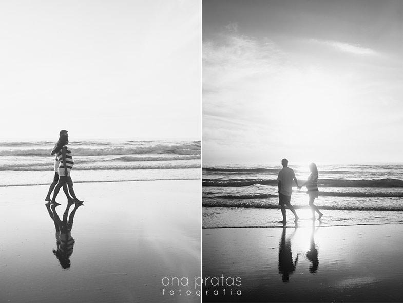 fotografia de grávida na praia