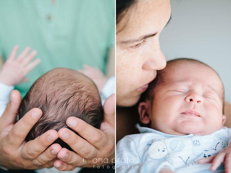 bebe recem nascido