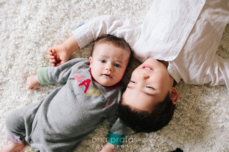 Sessão fotográfica bebé em casa