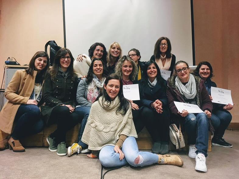 participantes do workshop com tamara lacky durante a expofoto em portugal